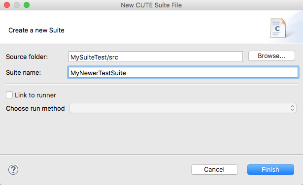 New Suite File Wizard